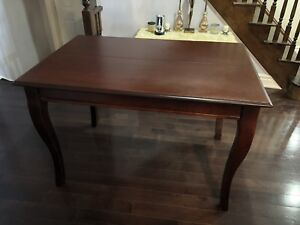 Like New Cherry Wood Dining Table (Pub Style)
