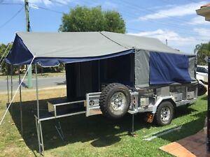 Jimboomba/Custom Offroad camper trailer