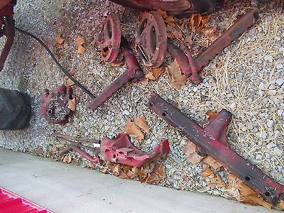 Farmall Av Sav Tractor Ih High Crop Front End Widefront Drop Spindle Holders Tie