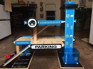 Hape Wooden Car Garage