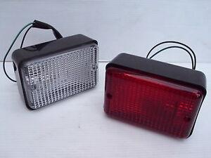 LAND ROVER DEFENDER REAR FOG & REVERSE LAMP LIGHT SET - UPTO 02 - PRC7254 / 63