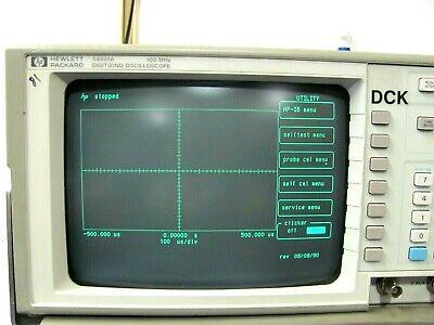 Hewlett Packard Hp 54501a 100 Mhz Digitizing Oscilloscope Free Shipping