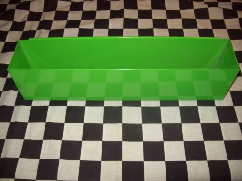 """16"""" GREEN TOOL BOX AEROSOL SPRAY CAN HOLDER snap 2 use- hang on side PAINT"""