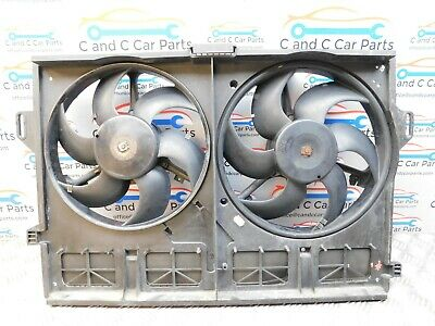 Jaguar S Type R Twin Radiator Fan Pair for 4.2 Supercharged V8 X202 13/2