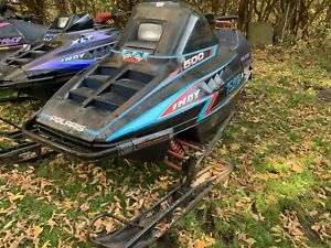 3 Polaris Indy snowmobiles and trailer trades welcome