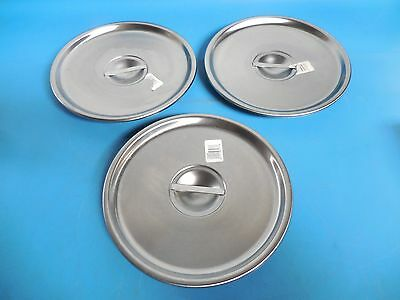 - Vollrath 79220 Bain Marie Pot Cover Lot of 3