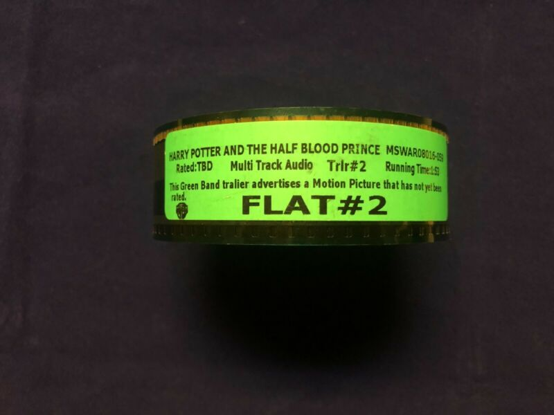 Harry Potter and the half blood prince 35mm trailer. Full. never used before