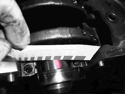 Rsr Plastigauge Plastigage 100cm Tira de Medición 0.025-0.175mm