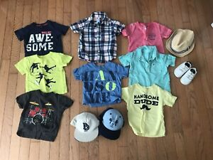 12 months summer boy clothes
