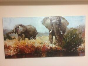 Canvas Paintings and mirror