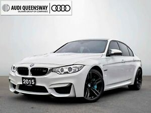 2015 BMW M3 6 Speed! No Accidents, One Owner