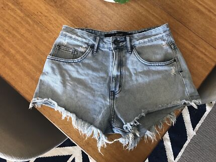 """Riders"" by Lee denim cutoffs - size 10"