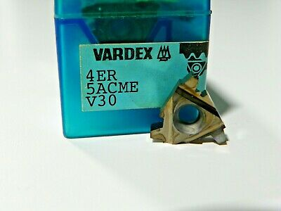 5 Pieces Vardex 4er 5acme V30 Carbide Inserts  F469