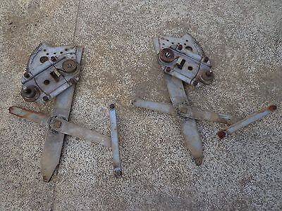 PONTIAC  PARISIENNE 1966 CHEVROLET 2x REAR WINDOW REGULATORS 4 DR PILLARED SEDAN