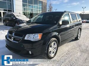2018 Dodge Grand Caravan Crew Plus **CUIR, CAMERA, HAYON ELEC. +