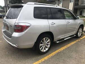 2009 TOYOTA HIGHLANDER HYBRID LIMITED With NAV And R. STARTER
