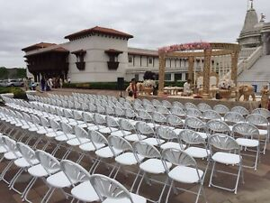 Contact us for quotes on renting linens, chairs,tents & tables!
