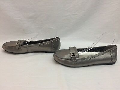 Anne Klein Sport Women's Best of Me Slip-On Loafer, Pewter, 9.5 M US (Best Slip On Loafers)