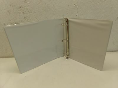Case Of 8 Skilcraft 3-ring 1-12 View Binders With Pocket 4381 Clear Overlay