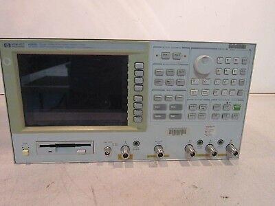 Hp 4396b Rf Networkspectrumimpedance Analyzer Opt 1d6