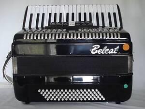 Piano Accordion Belcat 80 Bass Reservoir Darebin Area Preview