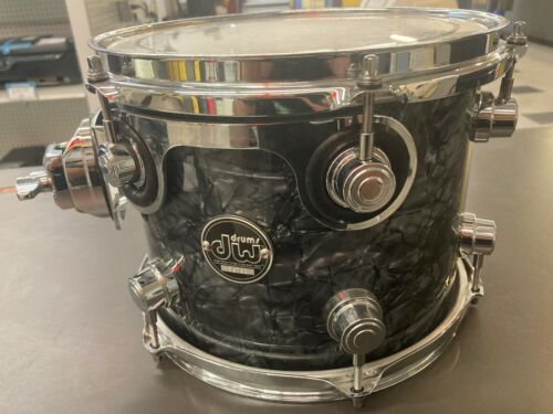 "DW Performance Series Mounted Tom - 8"" x 10"" Black Diamond FinishPly"