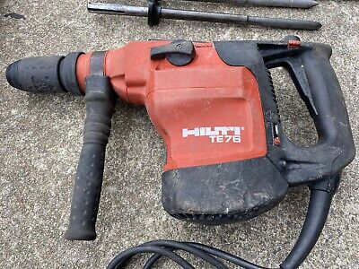 Hilti Hammer Drill Rotary Hammer Te76 Sds Max Lots Of Bits