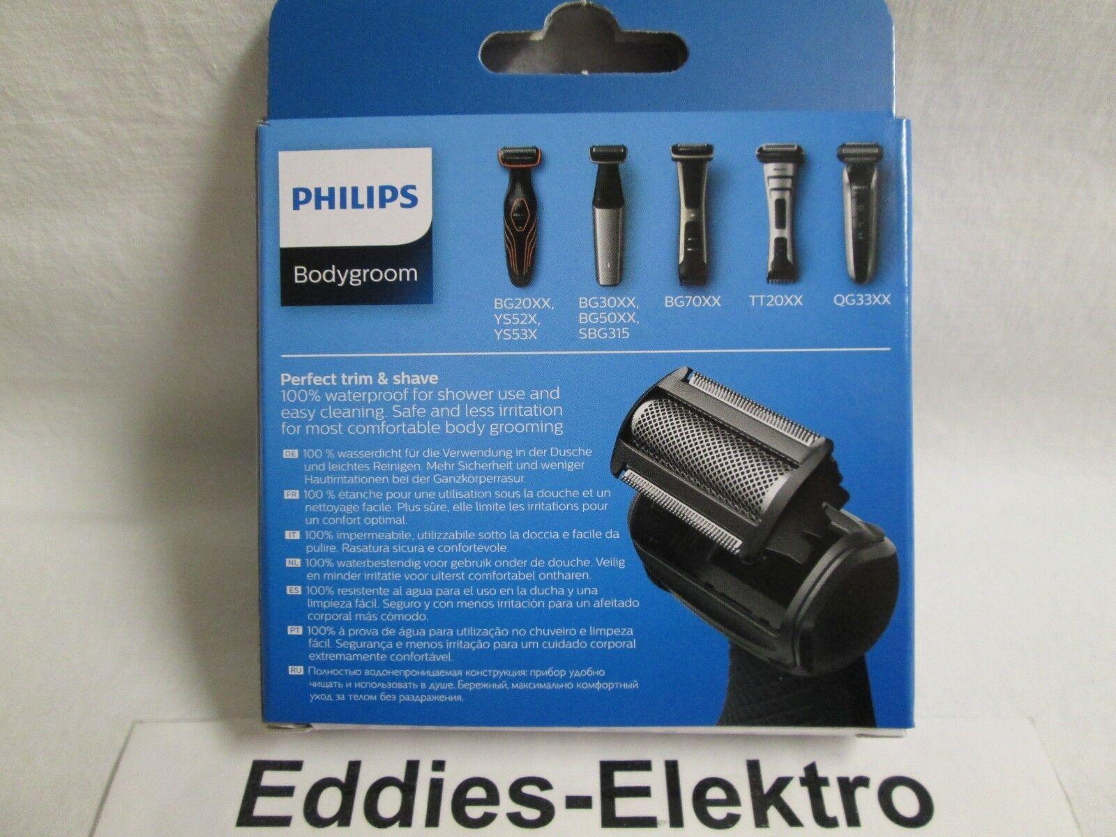 Philips Scherkopf TT2000 Bodygroom TT2021 TT2030 TT2040 TT 2000 NEU OVP original