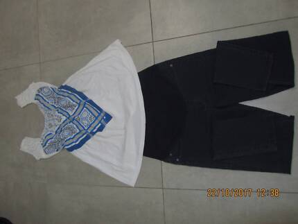 Maternity pants and blouse