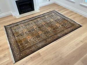 Beautiful hand woven Silk Persian Rug - Pending Pick Up