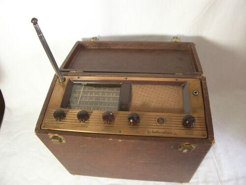 Hallicrafters Portable Receiver Model S-72L Shortwave Tube Radio For Repair 1950