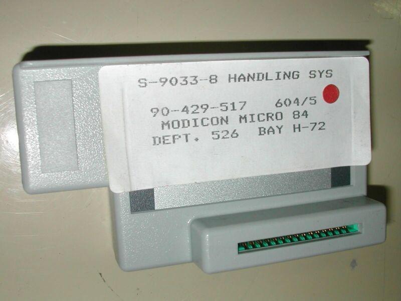 Gould Modicon AS-P371-002 2K Program Capacity Memory Module New (O10-8)