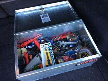 Toolbox with 50+ various hand tools