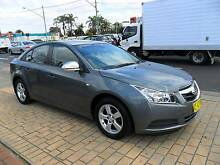 2010 Holden Cruze 113,000KMS AUTOMATIC GREY 4D SEDAN Lansvale Liverpool Area Preview