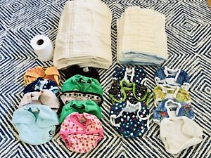 Great condition cloth diapers.