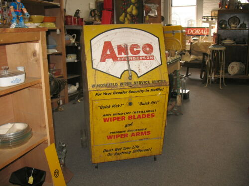 1964 Anco Anderson Windshield Wiper Service Center Cabinet 43x22x22 The Big One