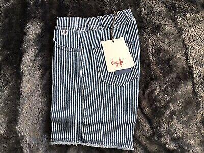 Il gufo boys shorts (Bermuda) Blue Stripe