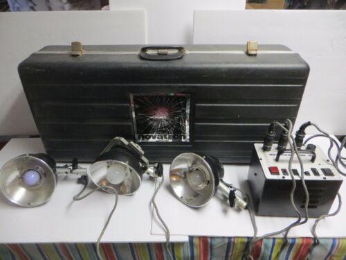 Novatron 600 VR 3 Head Light Flash Strobe Photography Kit