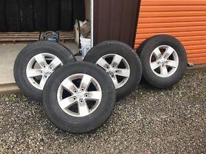 "Dodge ram 17"" rim tires sensor"