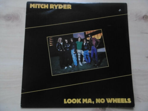 "Mitch Ryder Autogramm signed LP-Cover ""Look Ma, No Wheels"" Vinyl"