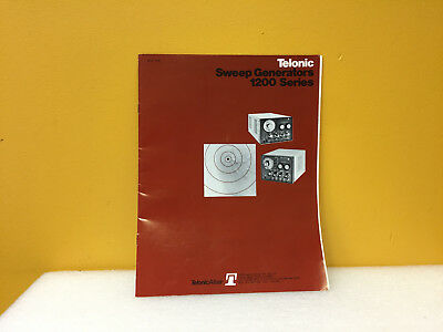Telonic 1976 1200 Series Sweep Generator Product Catalog