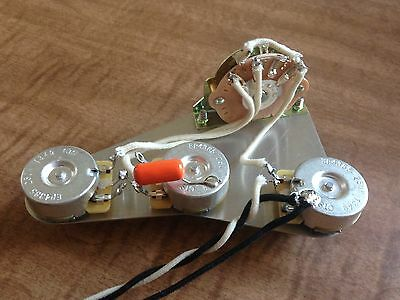 Pot Fender - Upgrade Wiring Harness for Fender Stratocaster Quality Parts CTS Pot Orange Drop