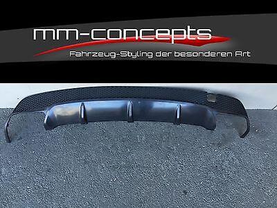 Diffusor hinten für Mercedes Benz CLA Klasse W117 A45 AMG Heckansatz C117 Duplex