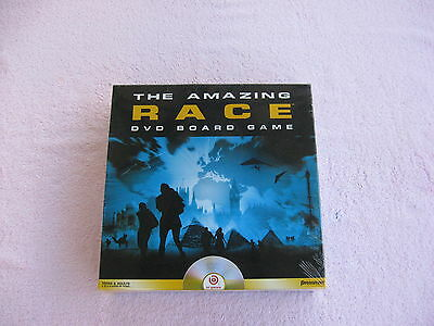 The Amazing Race DVD Board Game Brand New & Factory Sealed! ()
