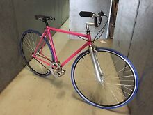 Hand built Europa Auzzie made Single speed road bike- vintage frame Avalon Pittwater Area Preview
