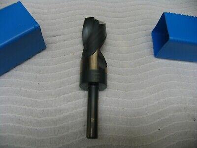 1-5//16 HSS 1//2 Shank KFD Killer Force Drill Bit with 3-Flat Shank