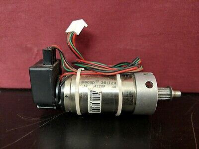 Escap 36lt2r Dc Servo Motor 12 422sp 49 Heds-5500 C11 Encoder 30 Day Guarantee