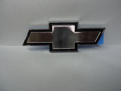 Chevy El Camino Tailgate - 78-87 EL Camino Tailgate Bowtie Emblem- Black & Chrome- GM Brand New # 3064882