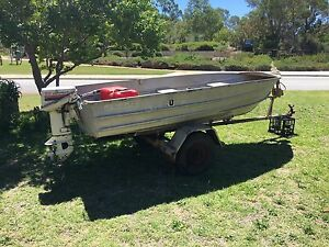 12ft aluminium dinghy Hamersley Stirling Area Preview