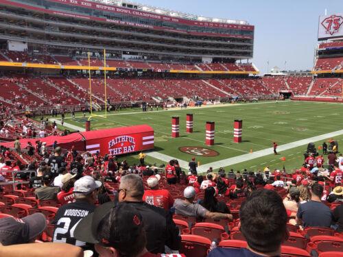 49ers Vs Cardinals 2 Lower Level Ticket Sec 123 11/7 - $475.00